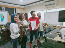 Penandatanganan PKS bersama Tim Telkom Bali