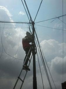 Teknisi mgm Proyek Infrasrtuktur telekomunikasi